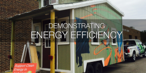 Tiny house in Alabama representing sustainability and energy efficiency